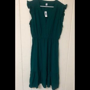Old Navy Green Dress